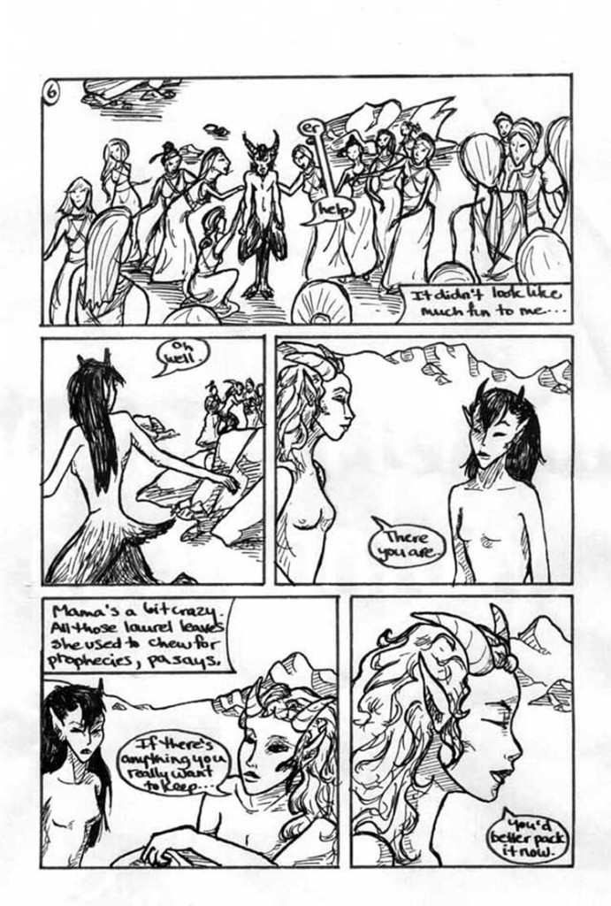 Fleeing Arcadia, page 6